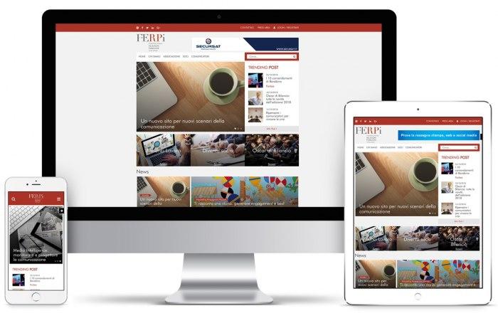 Un nuovo sito per nuovi scenari della comunicazione